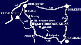 Smithbrook map