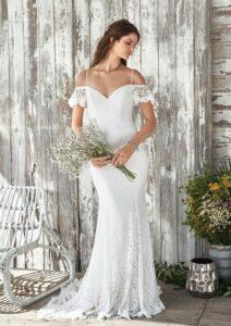 Lillian West style 66047 size 14 Ivory £599