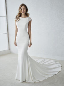 The White One Pronovias style 'Fiana' Ivory size 12 £499